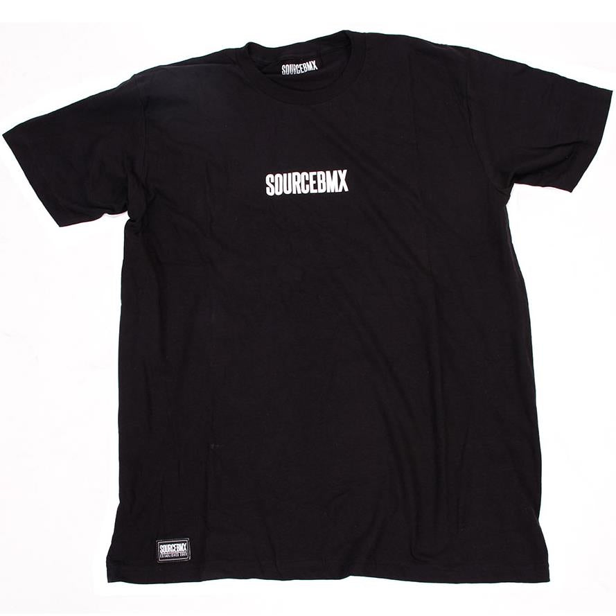 Source Central Premium Tee - Black | Trøjer