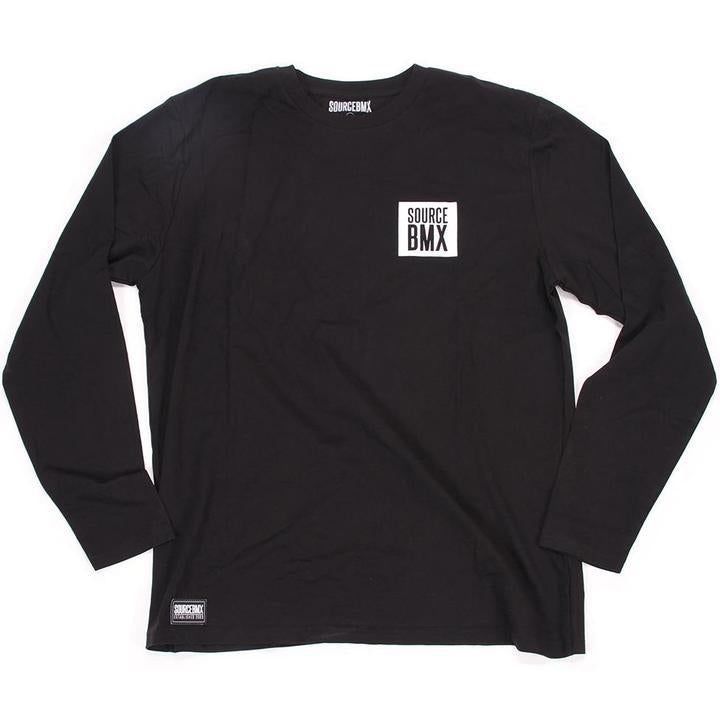 Source Block Premium Longsleeve Tee - Black | Trøjer