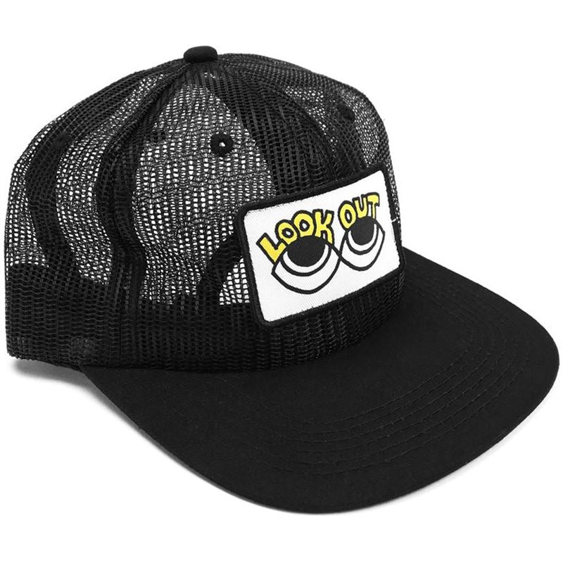 Cult Look Out Above Mesh Cap Black | Headwear