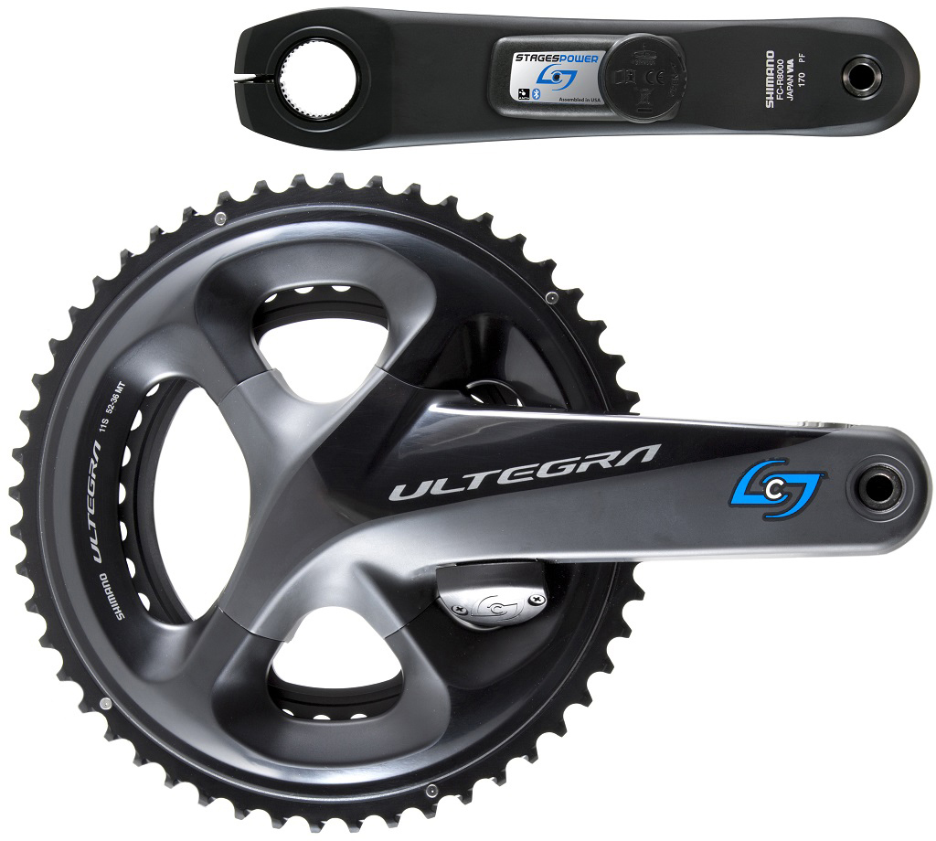 Stages Cycling Power Meter G3 Ultegra R8000 LR | Wattmålere