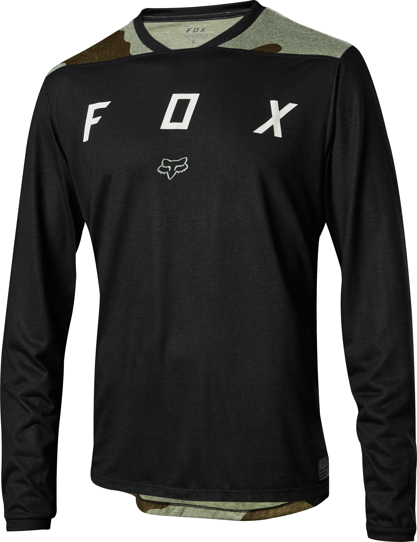 Fox Racing Indicator LS Mash Camo Jersey | Jerseys