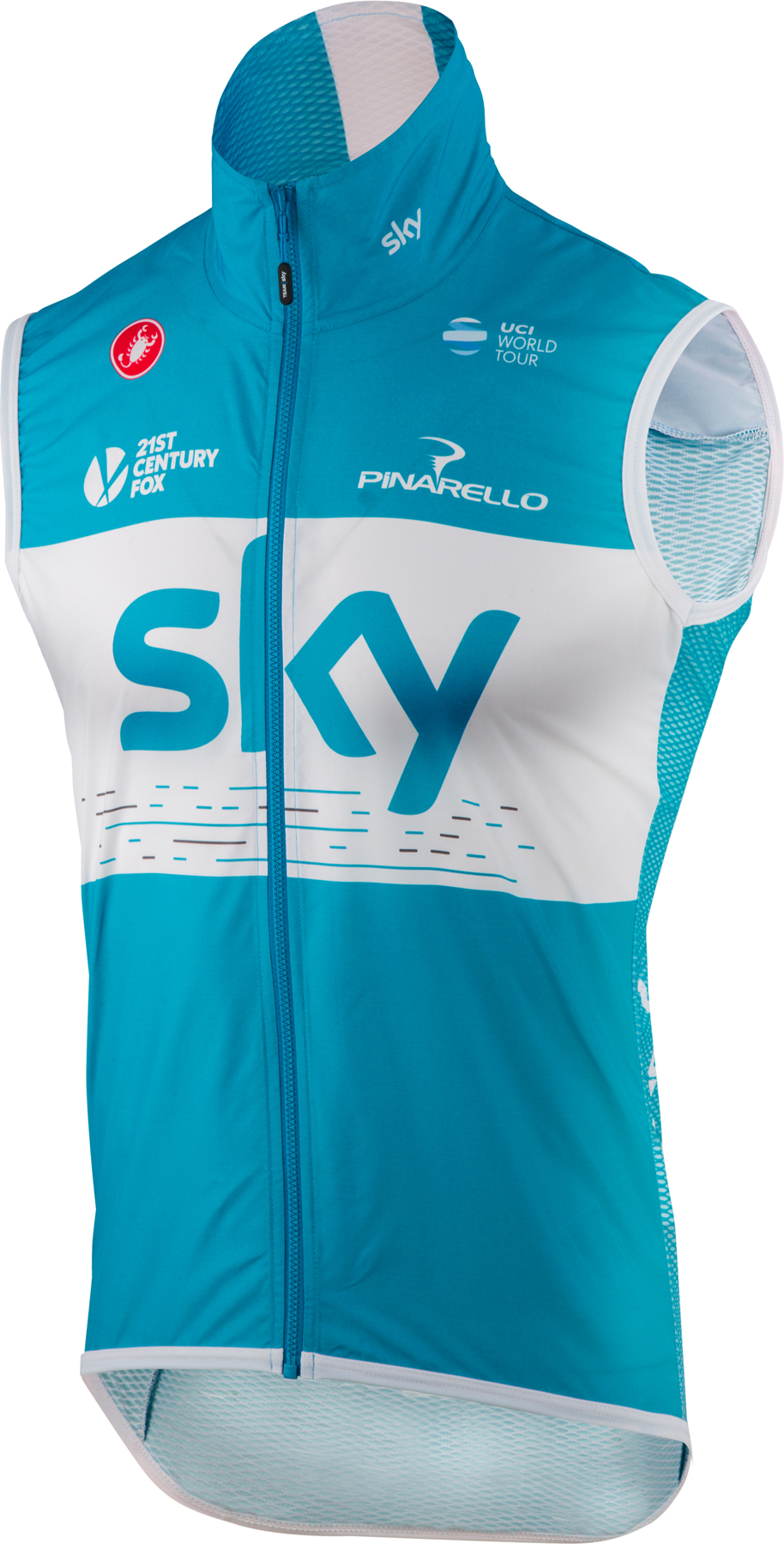 Castelli Team Sky Pro Light Wind Vest | Vests