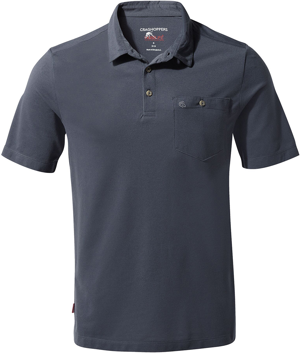 Craghoppers NosiLife Gilles Short Sleeved Polo | Jerseys