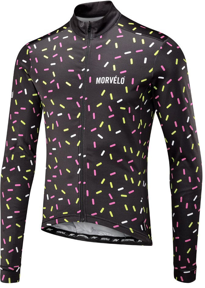 Morvelo Strands Thermoactive Long Sleeve Jersey | Jerseys