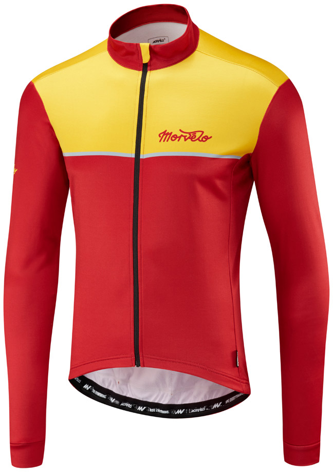 Morvelo Kuler Thermoactive Long Sleeve Jersey | Jerseys