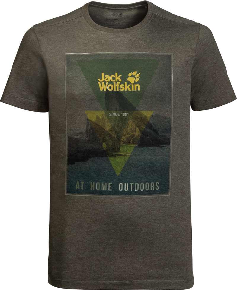 Jack Wolfskin Mens Mountain T-Shirt | Jerseys