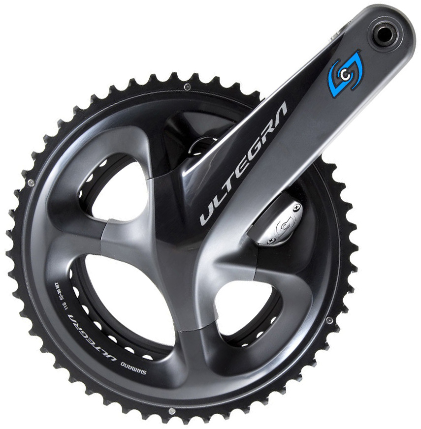 Stages Cycling Power R G3 cw Chainrings Ultegra R8000 | Wattmålere
