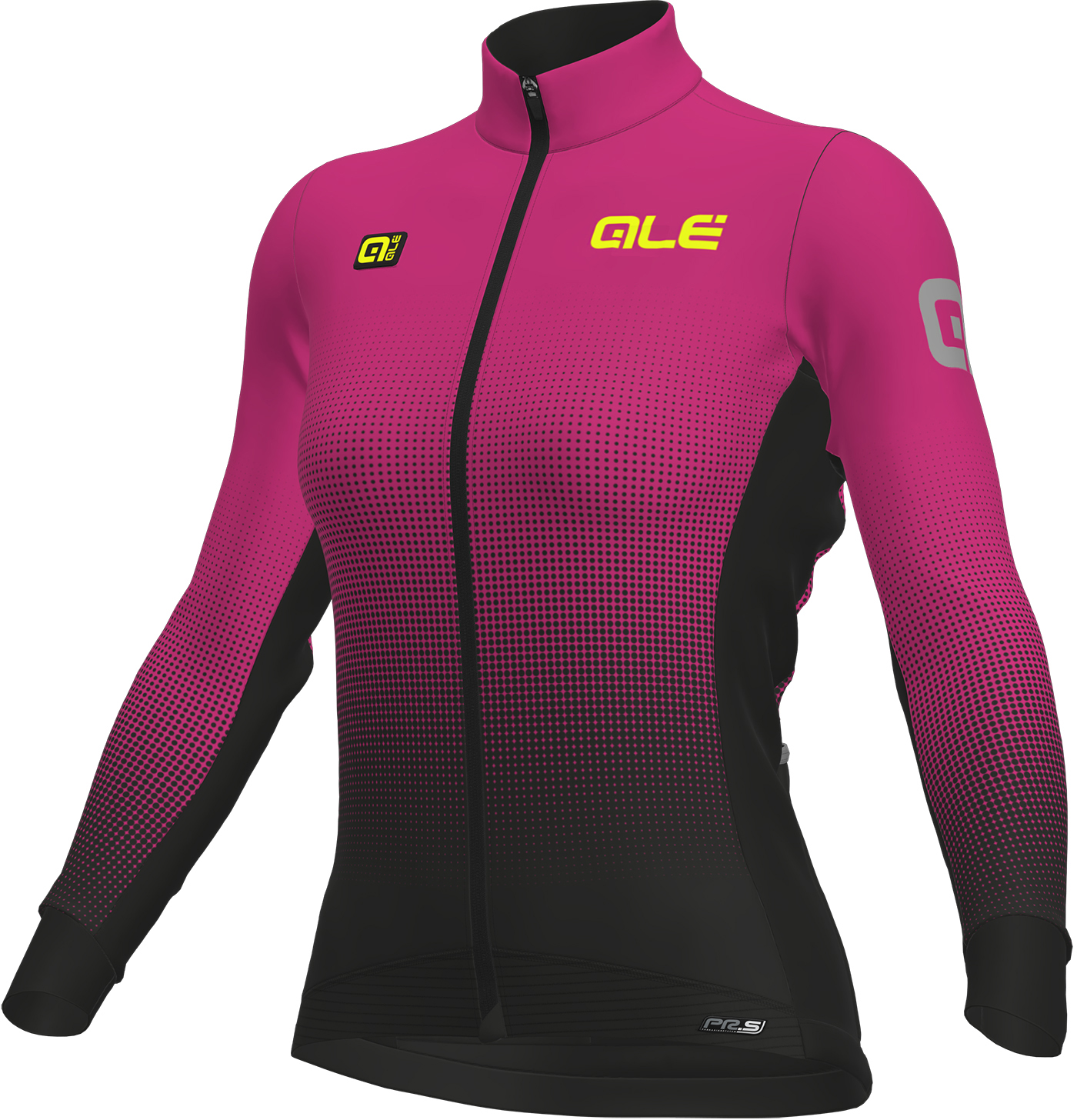Alé Women's Dots DWR Long Sleeve Jersey Turq | Jerseys