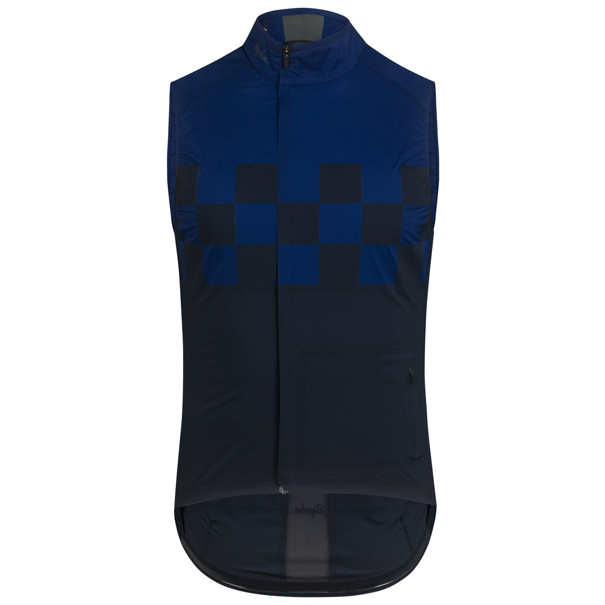 Rapha Classic Wind Check Gilet | Vests