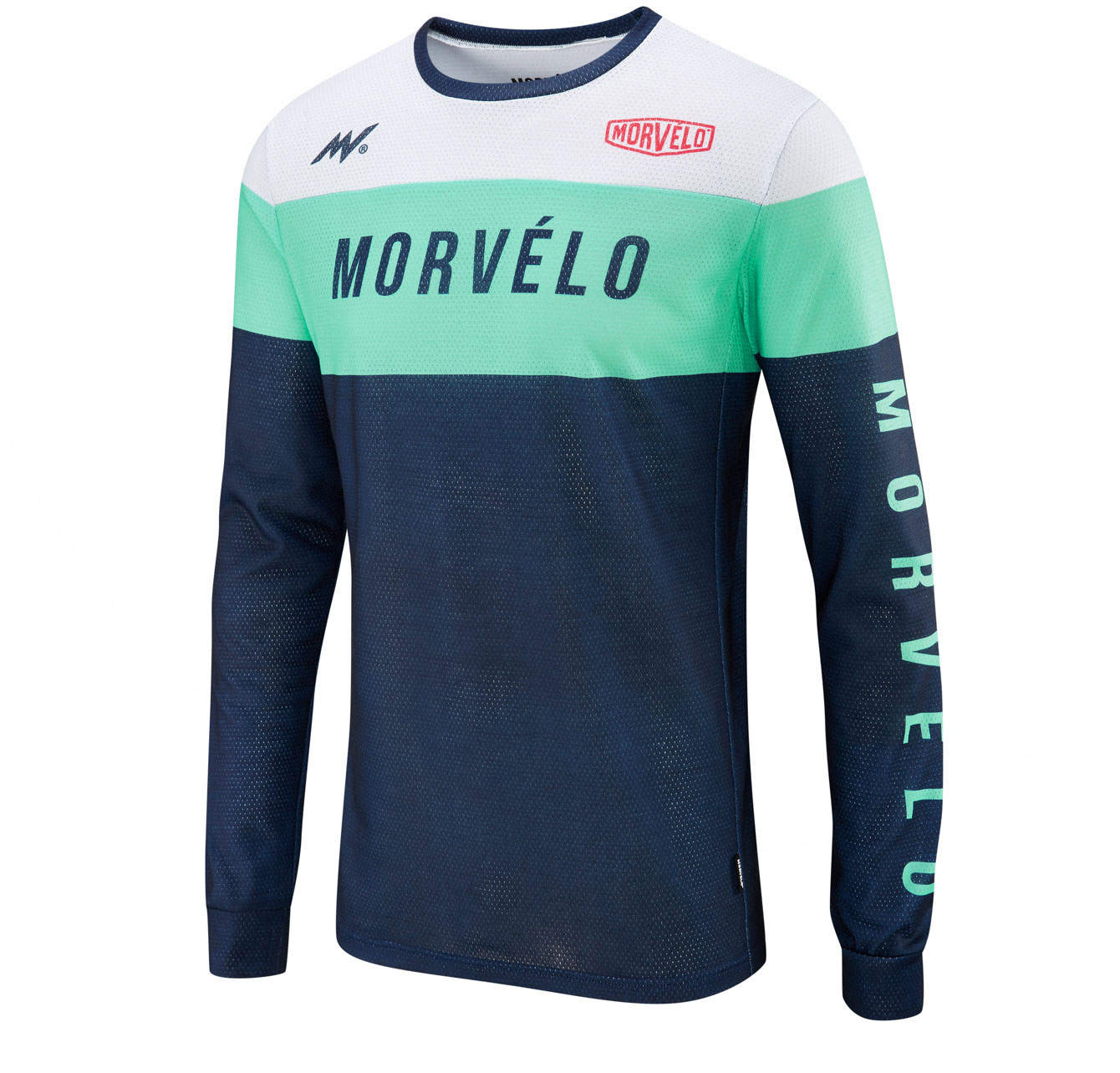 Morvelo Slide Long Sleeve MTB Jersey | Jerseys