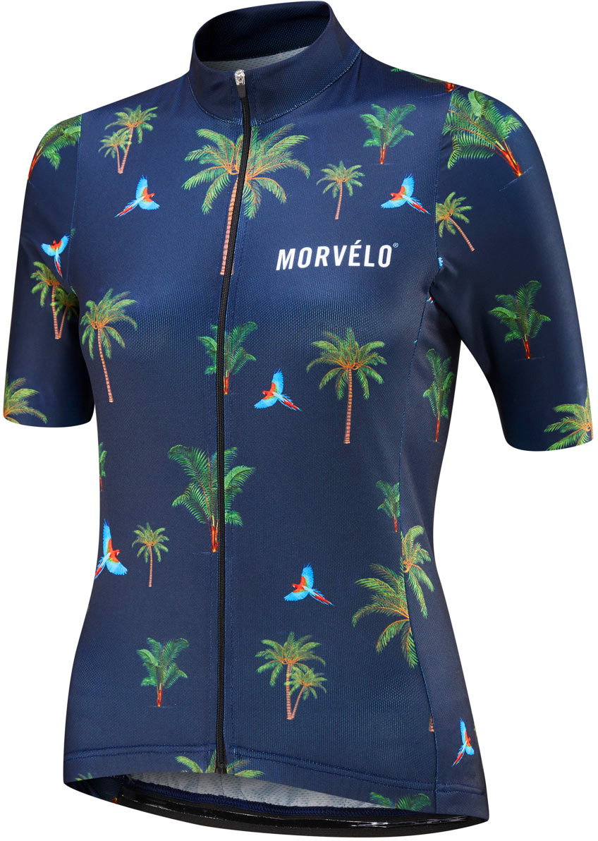 Morvelo Women's Botanical Standard Short Sleeve Jersey | Jerseys