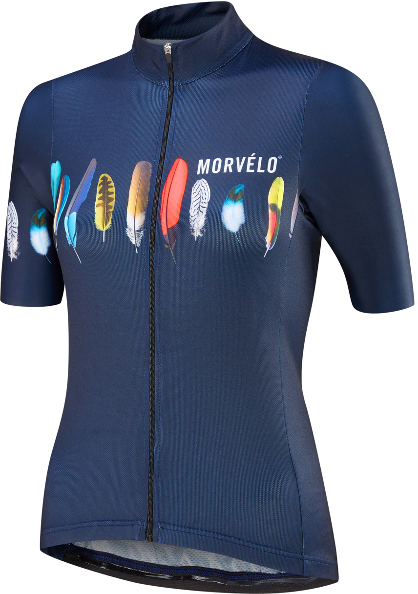 Morvelo Women's Plum Too Standard Short Sleeve Jersey | Jerseys