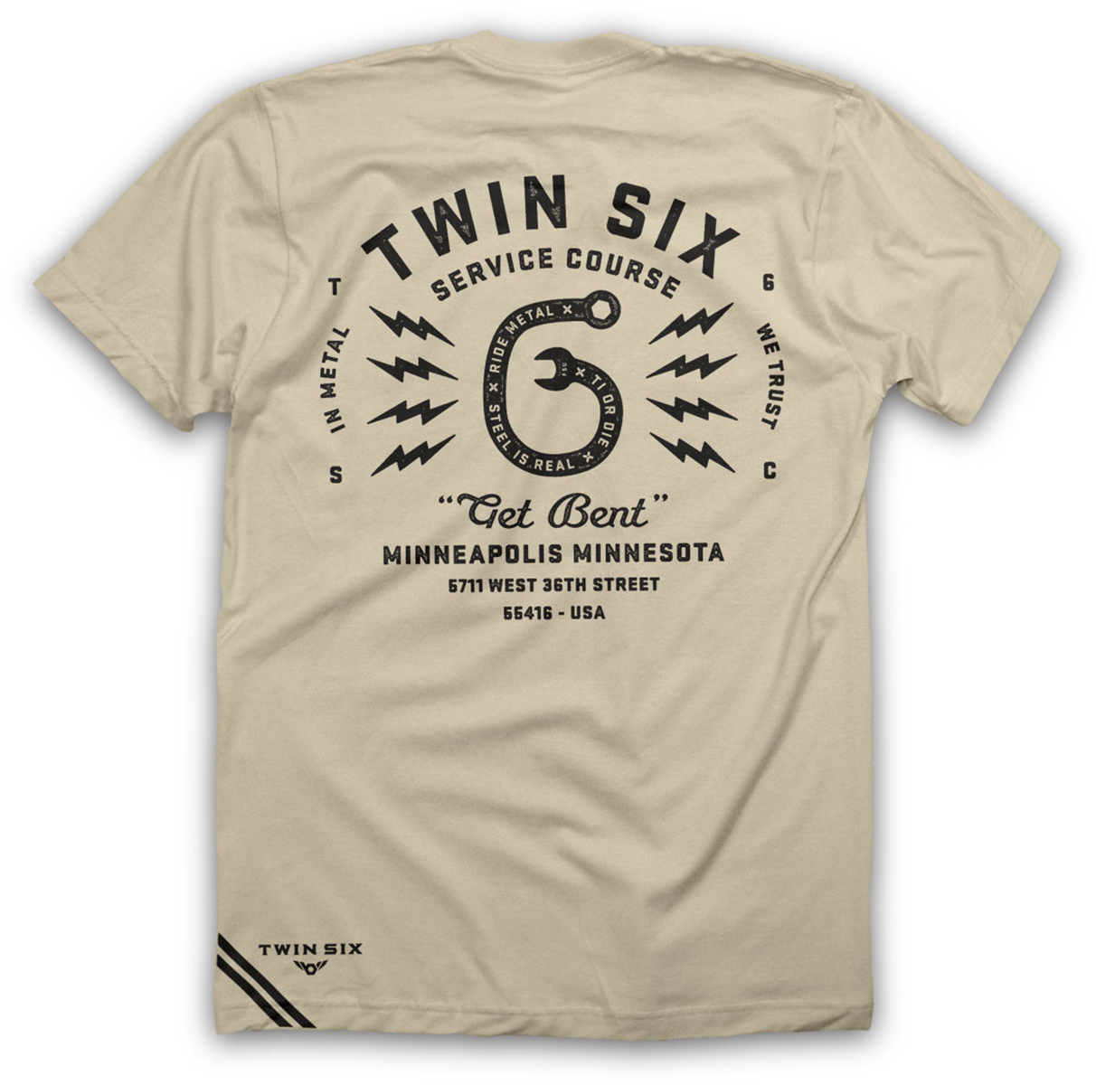 Twin Six Get Bent T-Shirt | Jerseys