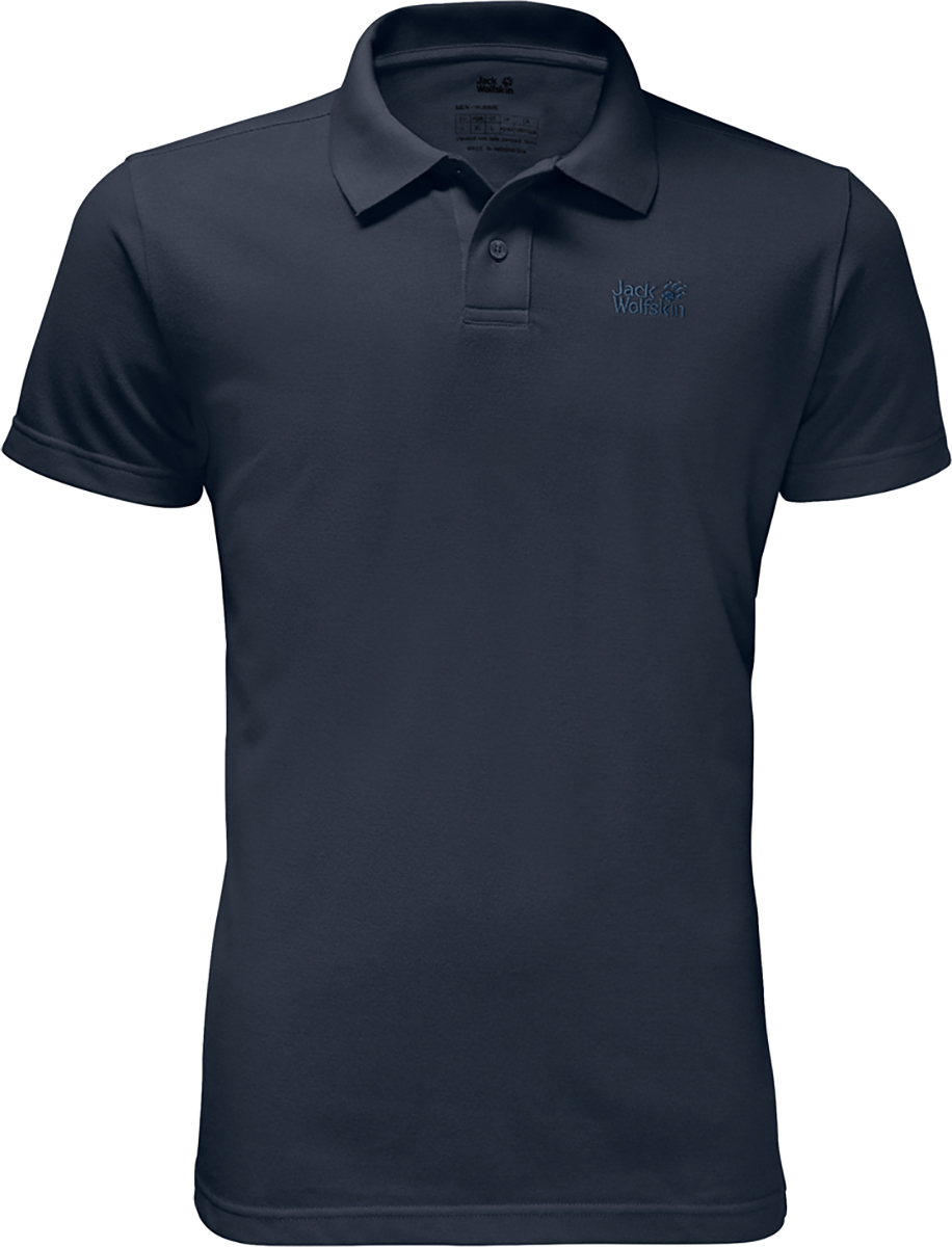 Jack Wolfskin Pique Polo Top | Jerseys