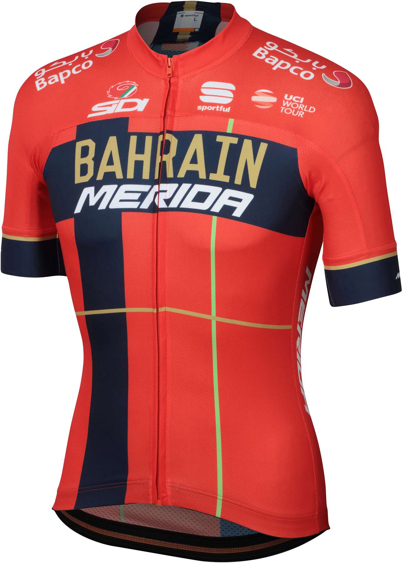 Sportful Bahrain Merida BodyFit Team Jersey | Jerseys