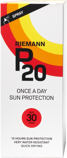 P20 Once a Day SPF30 Sun Protection Spray - (200ml) | Body maintenance
