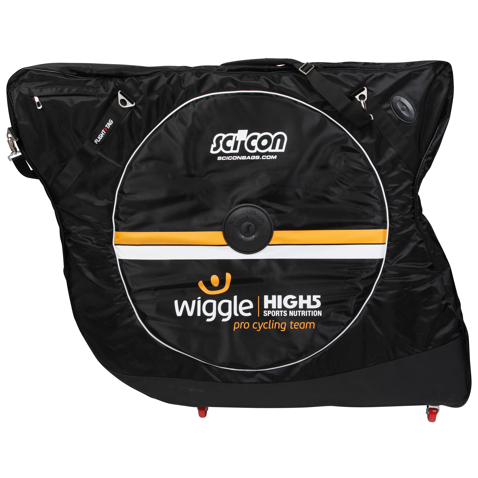 Scicon Aerocomfort 2.0 TSA Transporttaske (Wiggle High5 Team) | Cykelkuffert