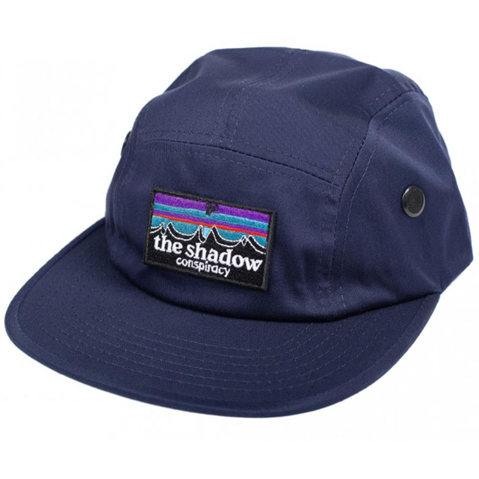 Shadow Out There Camp Hat - Navy | hovedbeklædning