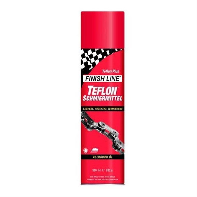 Finish Line Teflon Plus kædespray. | polish_and_lubricant_component