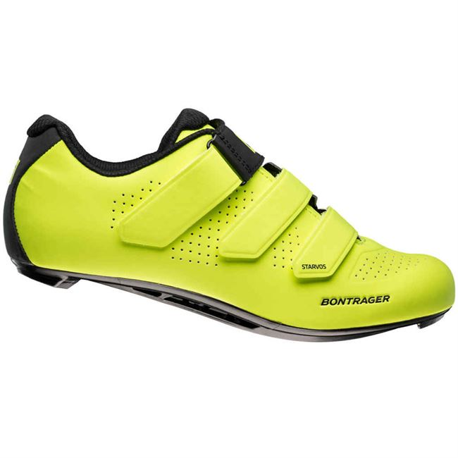 Bontrager Starvos - Sort - 42. | Shoes and overlays
