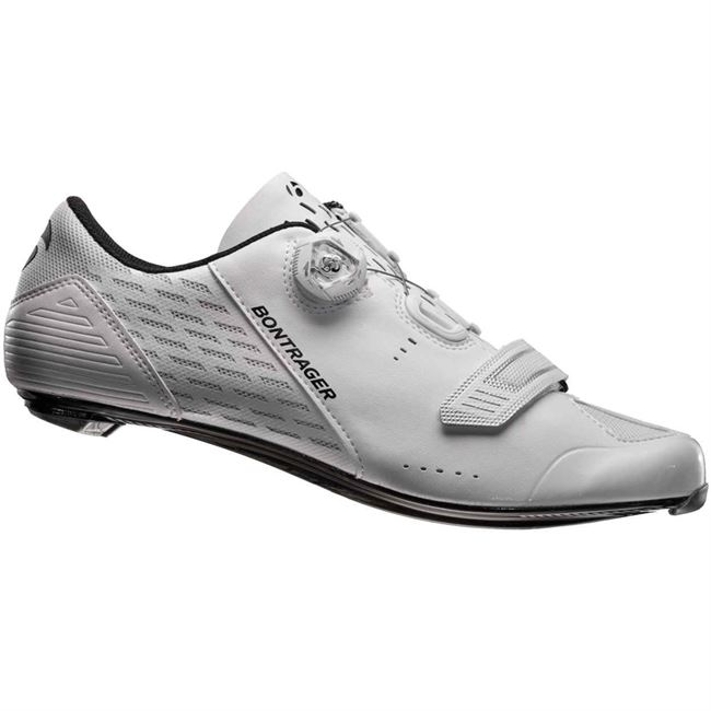 Bontrager Velocis - Hvid - 45. | Shoes and overlays