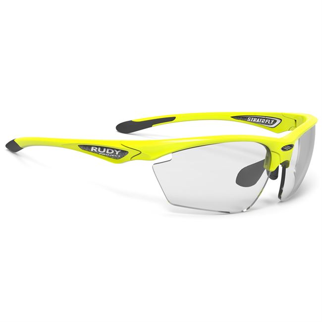 42c6ccb4c53 Rudy Project Stratofly Photochromic cykelbriller - Yellow Fluo Gloss.