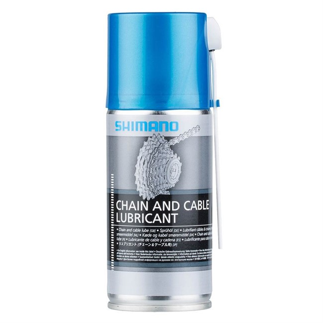 Shimano Chain & Cable olie - 125 ml. | polish_and_lubricant_component